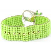 Bracelet Vert Raffiné Tendance - L by L'Avare