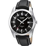 Casio - Montre Casio Collection BEM-116L-1AVEF - Montre Homme Cuir
