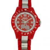 Montre Le Temps Des Cerises Rouge TC05RDRD