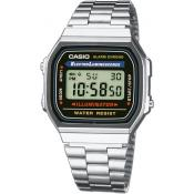 Casio - Montre Casio Retro Vintage A168WA-1YES - Montre Sport Homme