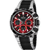 Montre Festina Tour de France F16775-8 - Montre Tendance Chrono Rouge Homme
