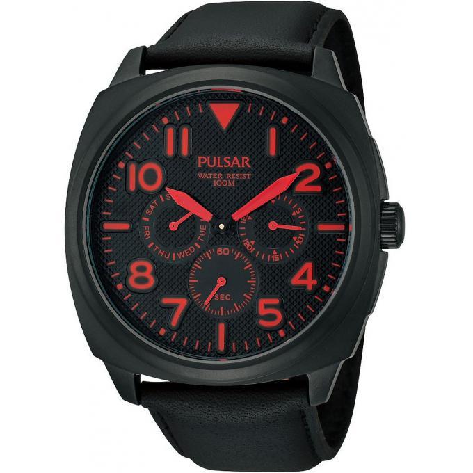 montre pulsar montre pp6111x1 montre classique cuir chic homme sur bijourama n 1 de la montre. Black Bedroom Furniture Sets. Home Design Ideas