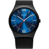Montre Bering  Acier Noire Bleu 32039-447