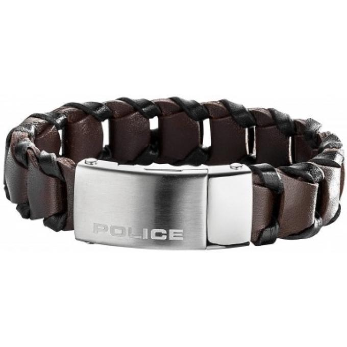 bracelet police pj25497blc02l bracelet cuir tress marron homme sur bijourama r f rence des. Black Bedroom Furniture Sets. Home Design Ideas