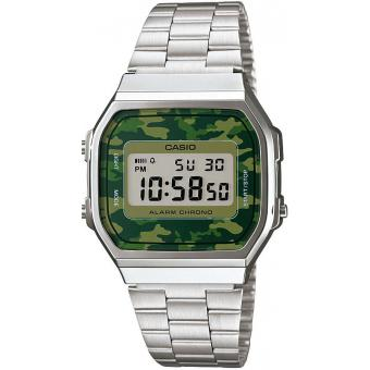 Casio - Montre Casio Retro Vintage A168WEC-3EF - Montre casio etanche