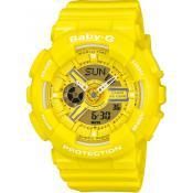 Montre Casio Baby-G Jaune BA-110BC-9AER