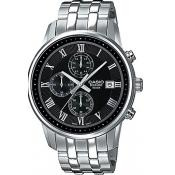 Montre Casio Collection BEM-511D-1AVEF - Montre Dateur Acier Homme