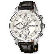 Montre Casio Collection BEM-511L-7AVEF - Montre Dateur Cuir Homme