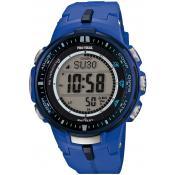 Montre Casio Pro Trek Bleue PRW-3000-2BER - Femme