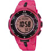 Montre Casio Pro Trek Rose PRW-3000-4BER - Casio