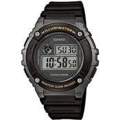 Montre Casio Collection W-216H-1BVEF - Montre Digitale Multifonction Homme