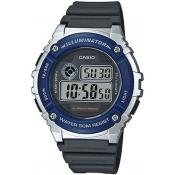 Montre Casio Collection W-216H-2AVEF - Montre Digitale Multifonction Homme