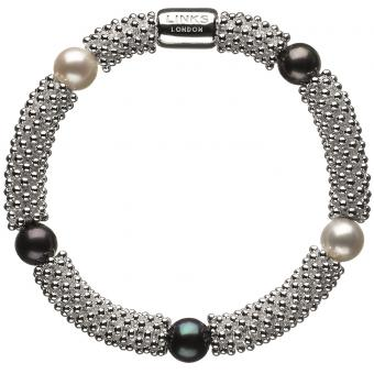 Bracelet Links of London Effervescence 5010.1396 - Bracelet Perle Bicolore Femme