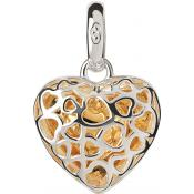Charms Links of London Bijoux Argent Coeur Cage 5030.2297