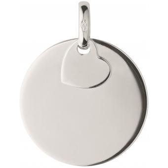 Charms Links of London Milestones 5030.2306 - Charms Disque Coeur Argent