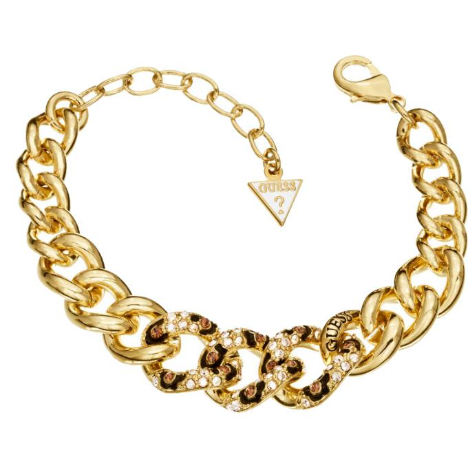 bracelet dor jungle guess bijoux bijoux guess bijoux winaretta. Black Bedroom Furniture Sets. Home Design Ideas