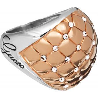 Bague Guess bijoux UBR51415 - Bague Rose Gold