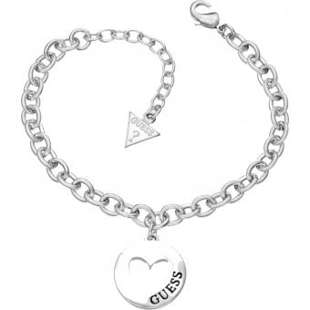 Bracelet Métal Argenté - Guess bijoux - Guess