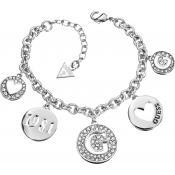 Collier et pendentif Guess Bijoux Pendentifs Coeur Argenté UBB51430