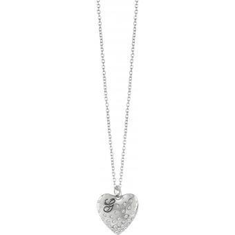 Collier et pendentif Métal Argenté - Guess bijoux - Guess
