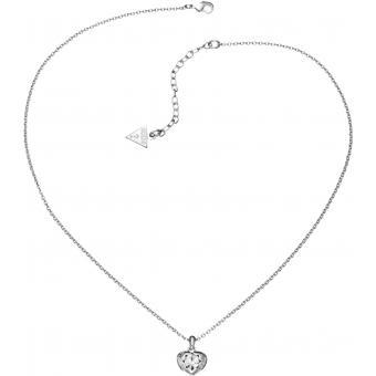 Collier UBN51419 Métal - Pendentif Crystal Argenté - Guess bijoux - Guess