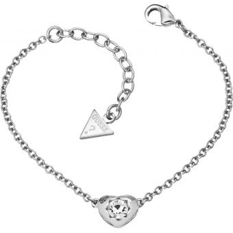 Bracelet Métal Armour - Coeur Argenté - Guess bijoux - Guess