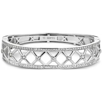 Bracelet Argent Zirconium - Ti Sento - Ti Sento