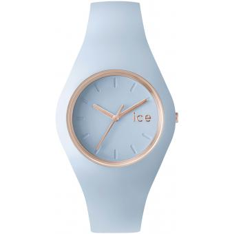 Montre Ice Watch ICE.GL.LO.U.S.14 - Montre Glam Bleu Pastel Femme