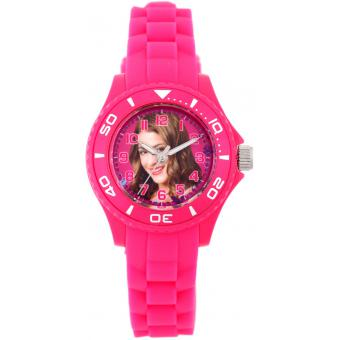 Montre Disney W001565-75017 - Montre Rose Violetta Enfant