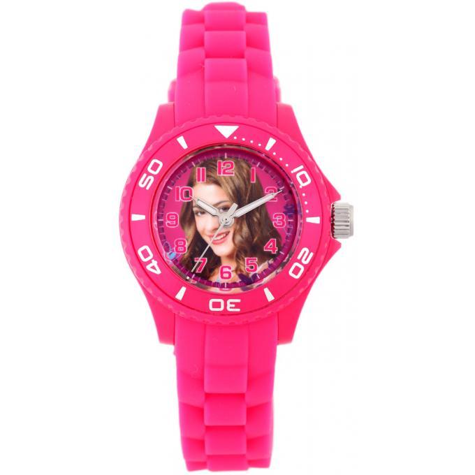 Promo : Montre Disney W001565-75017 - Montre Rose Violetta Enfant