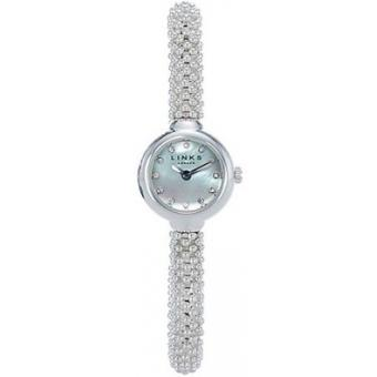Montre Links of London Effervescence 6010.0601 - Montre Argent Perles Femme