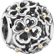 Charms Pandora Fleur Or Argent 791373
