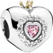 Charms Pandora Princesse Argent 791375PCZ - Conte de Fees