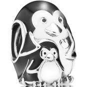 Charms Pandora Famille Pengouin Argent 791404EN60 - Famille et Amis