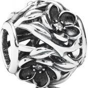 Charms Pandora Fleur Ajourée en Argent 791409CZ