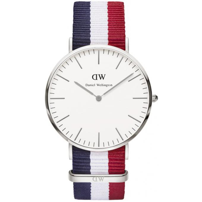 montre daniel wellington dw00100017 montre tissu nato navy bleue blanche rouge homme sur. Black Bedroom Furniture Sets. Home Design Ideas