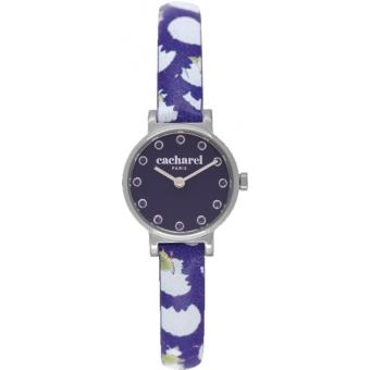 Montre Cacharel CLD029-GG - Montre Simple Élégante Violette Femme