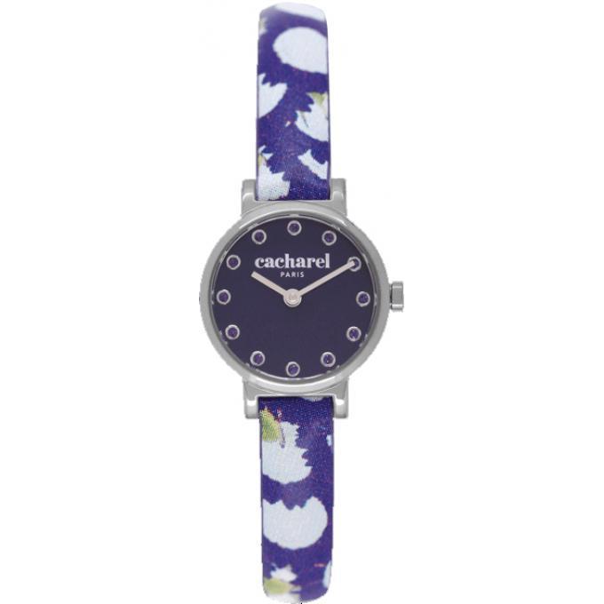 montre cacharel cld029 gg montre simple l gante violette femme sur bijourama montre femme. Black Bedroom Furniture Sets. Home Design Ideas