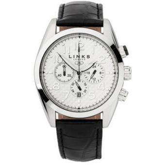 Montre Links of London 6010.0323 - Montre Acier Noire Homme