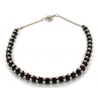 Collier Noir Vintage Stylé - Scooter - Scooter