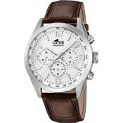 Montre Lotus Chronographe Cuir Marron L18155-1
