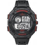 Montre Timex Ronde Noire Résistante T49980SU