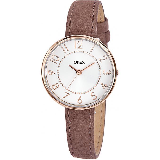 montre opex x3996la1 montre cuir ronde l gante femme sur bijourama montre femme pas cher en. Black Bedroom Furniture Sets. Home Design Ideas
