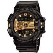 Montre Casio Robuste Noir Multifonction GBA-400-1A9ER - Homme