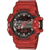 Montre Casio Rouge Multifonction GMix GBA-400-4AER - Homme