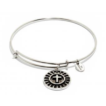 Bracelet CHRYSALIS CRBT0802SP-SML - Bracelet Argenté Croix Classique Femme