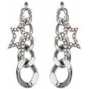 Boucles d'oreilles Thierry Mugler Bijoux Pendantes Etoiles Facettées T31275Z - Etoile
