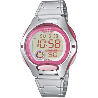 Montre Casio Acier Casio Collection LW 200D 4AVEF Fille  vlddG