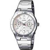 Casio - Montre Casio Collection LTP-2069D-7A2VEF - Montre Femme Acier
