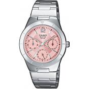 Casio - Montre Casio Collection LTP-2069D-4AVEF - Montre Femme Acier